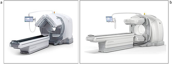 図1 Discovery NM/CT 670 Q.SuitePro(a),Optima NM/CT 640(b)