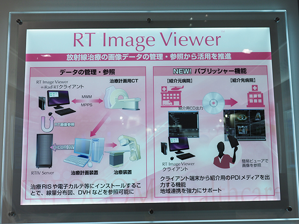 「RT Image Viewer」のパブリッシャー機能の説明