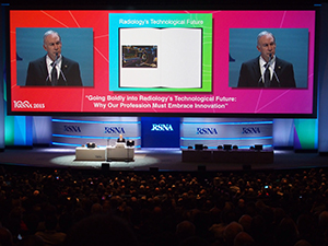 RSNA2015のOpening Session