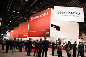 Shimadzu Medical Systems(島津製作所)ブース