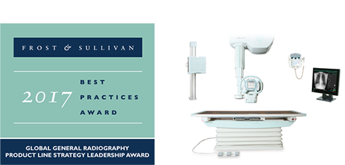 2017 Global General Radiography Product Line Strategy Leadership Award