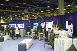 Lakeside Leaning Centerでの発表の様子(RSNA2011)