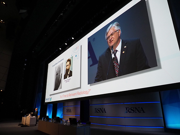 RSNA2017のOpening Session